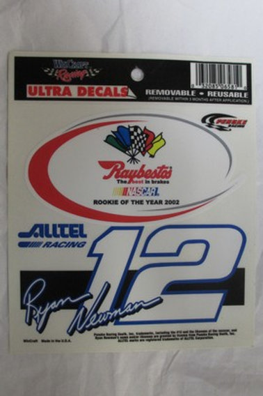 2002 Rookie of the Year Decal / Ryan Newman Decal #2