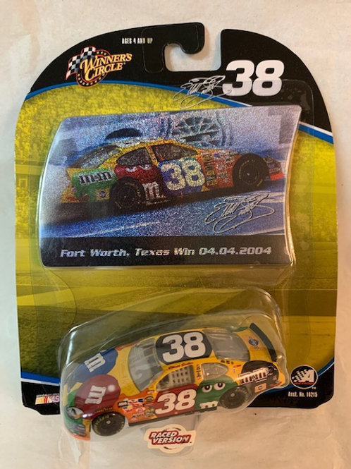 2004 M&M's - Fort Worth, Texas Win  with Sticker / Elliott Sadler 1:64 Box#14