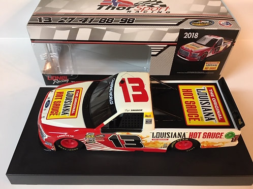 2018 Louisiana Hot Sauce Camping World Truck Series  / Myatt Snider 1:24  Wall