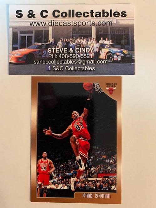 1998-99 Topps Dennis Rodman Card# 109/ Basketball-BK1