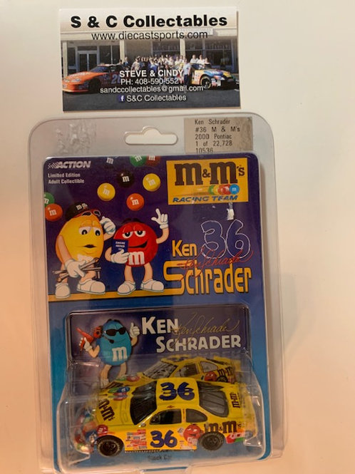 2000 M&M's / Ken Schrader 1:64 Box#13  AAA