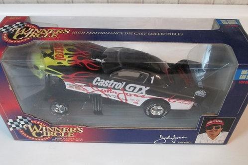 1997 Castrol GTX Funny Car / John Force 1:24 Shelf