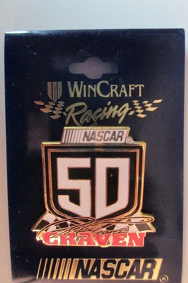 1998 NASCAR #50 Hat Pins / Ricky Craven  Hat Pin #2