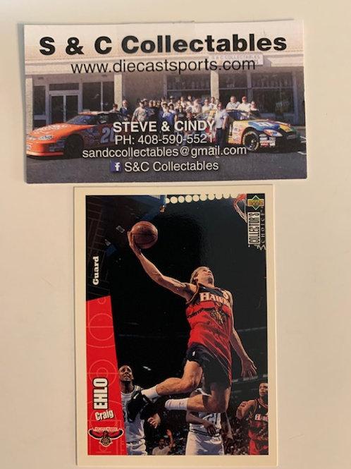 1996-97 Upper Deck Craig Ehlo Guard Card# 4 / Basketball--BK1