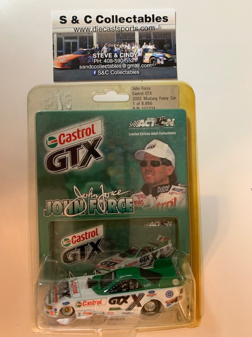 2002 Castrol GTX Funny Car  / John Force 1:64