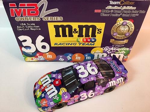 2002 M&M's - Purple Color Vote Winner / Ken Schrader 1:24