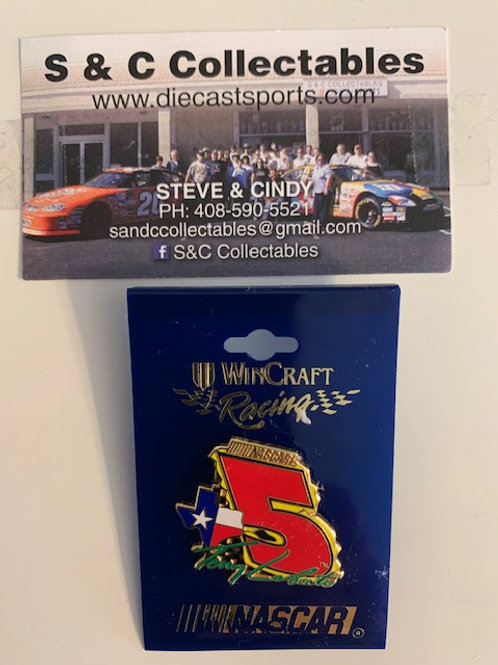2001 #5 Texas Hat Pins / Terry Labonte  Hat Pin #7