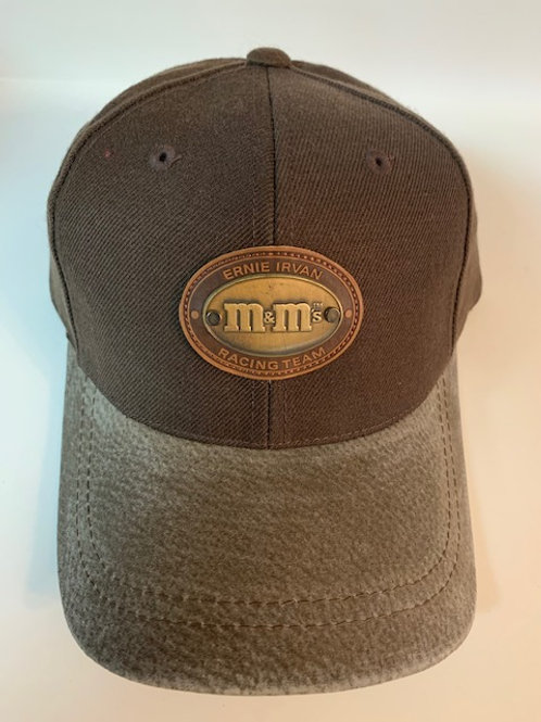 1999 M&M Brown with Metal  Emblem on Hat  (NEW)/ Ernie Irvan Hat#5
