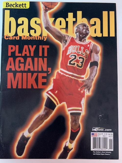 2001 Beckett Card Monthly Issue# 136 Michael Jordan /  Basketball