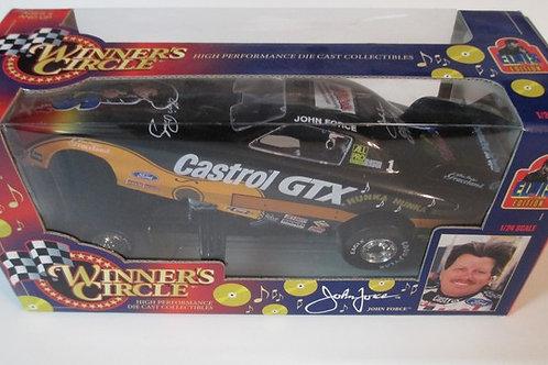 1998 Elvis -Castrol GTX Funny Car / John Force 1:24 Shelf