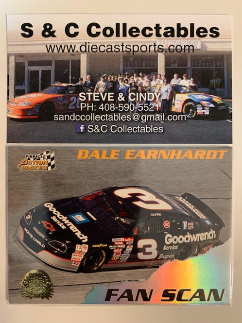 1996 GM Goodwrench Fan Scan / Dale Earnhardt Sr.  Cards
