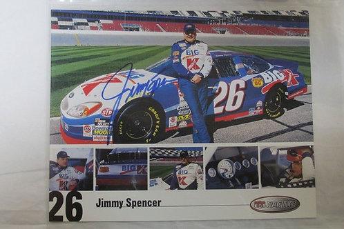2002 Big Kmart Autographed / Jimmy Spencer