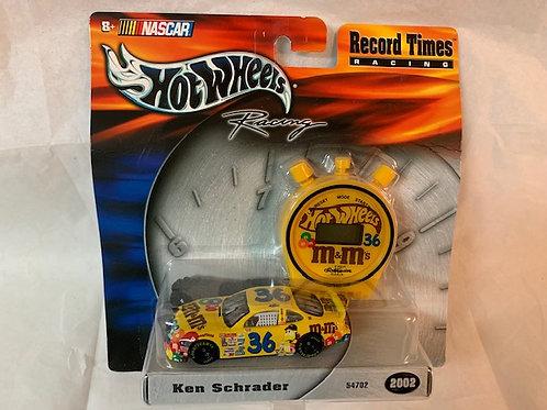 2002 M&M Record Times / Ken Schrader  1:64 Box# 1