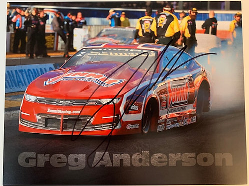 2019 Autographed Summit Pro Stock Car / Greg Anderson