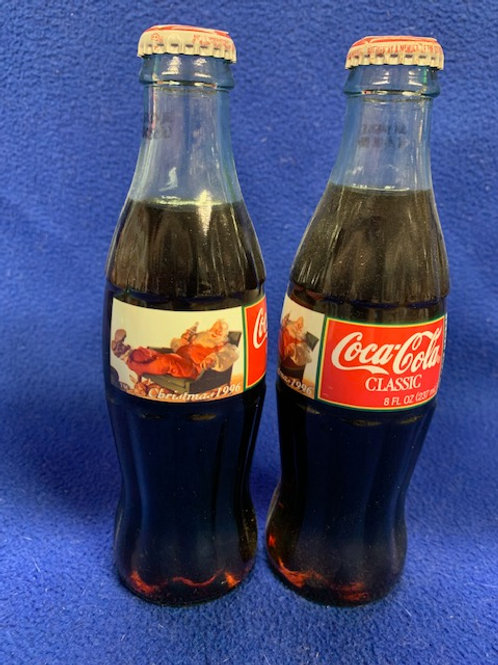 1996 Coca-Cola Christmas Coke Bottle