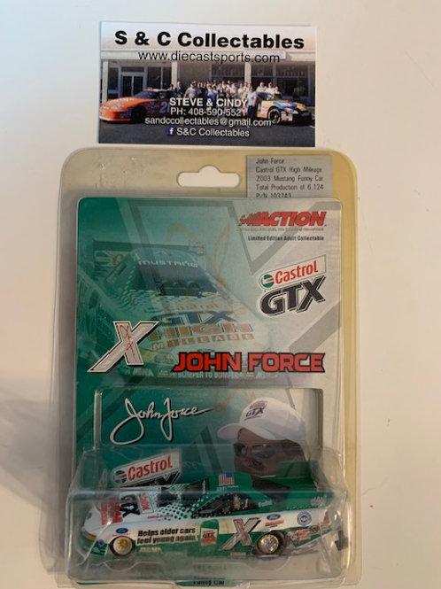 2003 Castrol GTX High Mileage Funny Car / John Force 1:64