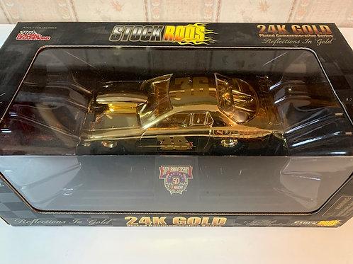 1998 Skittles  24KGold Stock Rods / Ernie Irvan 1:24