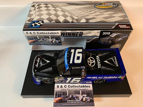 2018 Aisin Group Homestead Championship Raced Win / Brett Moffitt 1:24  Shelf #2