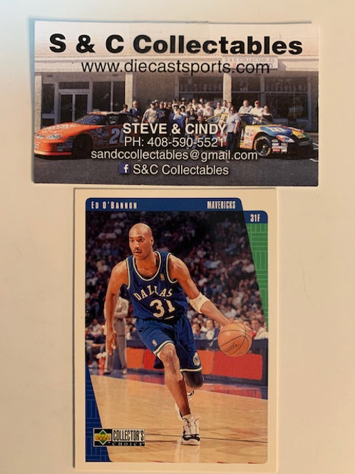 1997-98 Upper Deck  Ed O'Bannon Card#29  / Basketball--BK1
