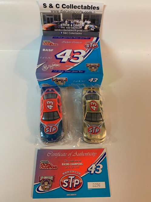 1998 STP 2 Car Set / John Andretti 1:64 Shelf