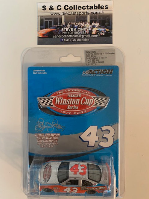 2003 NASCAR Winston Cup Series - The Victory Lap 7X Champ /  Richard Petty  1:64