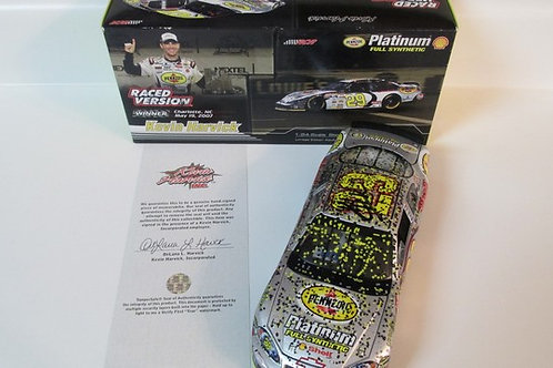 2007 Autographed  Pennzoil All Star Win   / Kevin Harvick 1:24  Wall