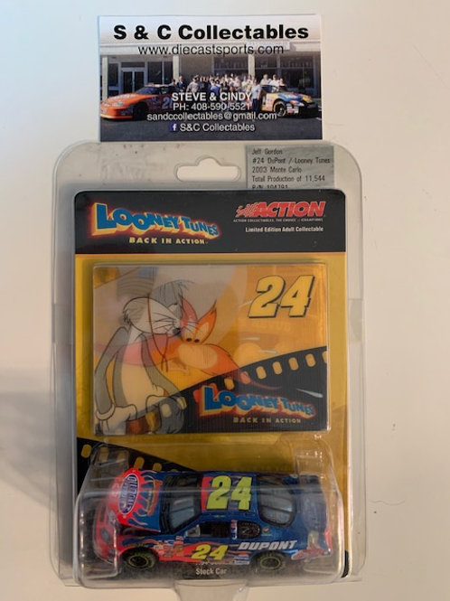 2003 DuPont - Looney Tunes Back in Action / Jeff Gordon 1:64