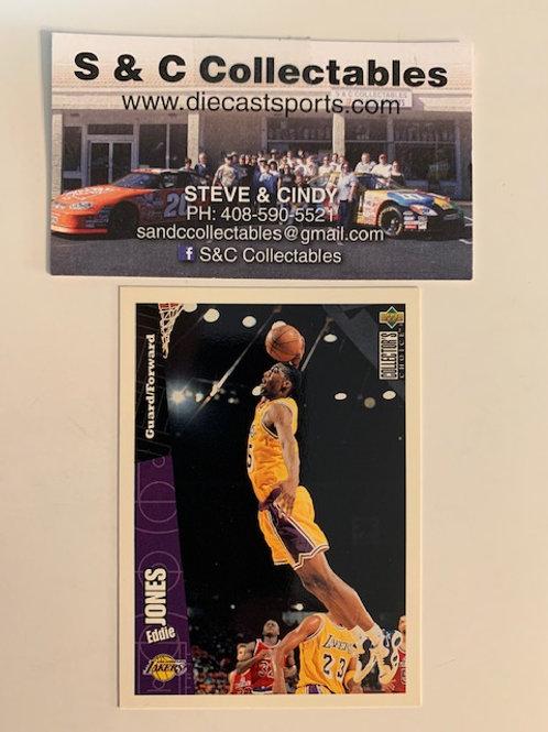 1996-97 Upper Deck Eddie Jones Forward-Guard Card# 75 / Basketball--BK1