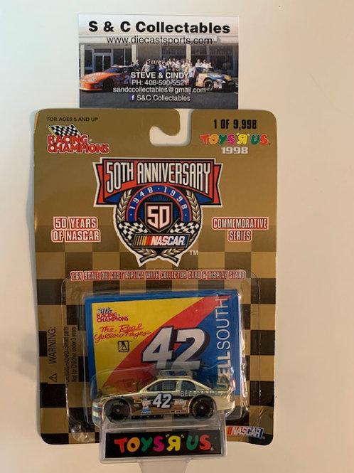1998 Bell South Toy's R Us Gold Car / Joe Nemechek 1:64  Box# 42