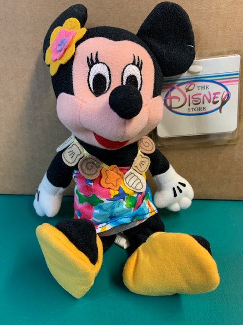 Disney Beanies Minnie Mouse Tropical Island