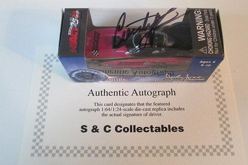 2017 Autograph  Advance Auto Parts Pink Funny Car / Courtney Force 1:64 Shelf# A