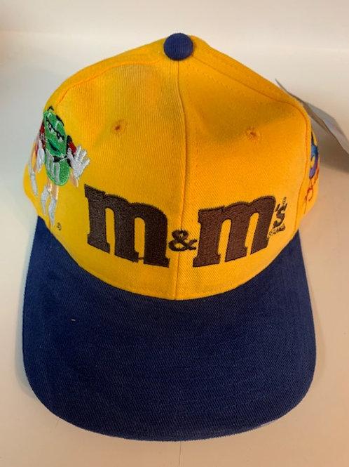 2002 M&M 4 Character on Hat  (NEW)  / Ken Schrader  Hat#5