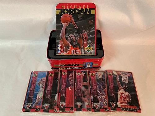 1996 - 6 All Metal Collector Card Set   / Michael Jordan Box# 43