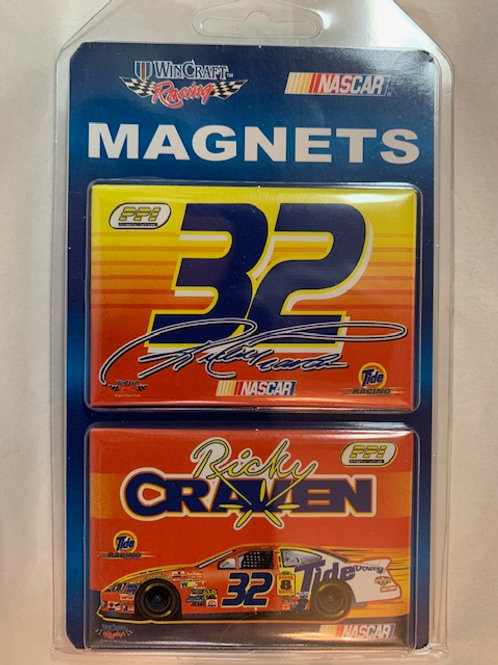 "2002-04 Two Pack Magnets 3"" X 2"" New / Ricky Craven  Corner Shelf  1"