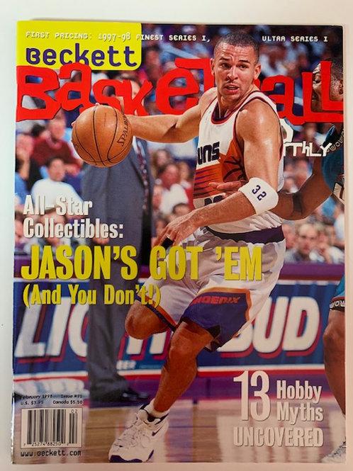 1998 Beckett Card Monthly Issue# 91 Jason Kid  /  Basketball