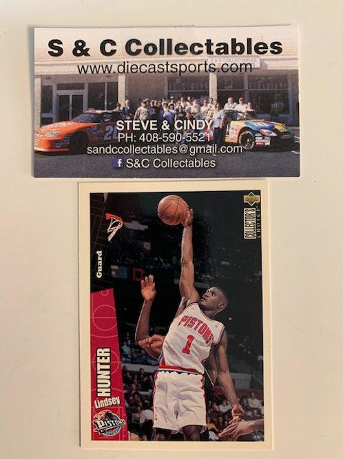 1996-97 Upper Deck Lindsey Hunter Guard Card# 49/ Basketball-BK1