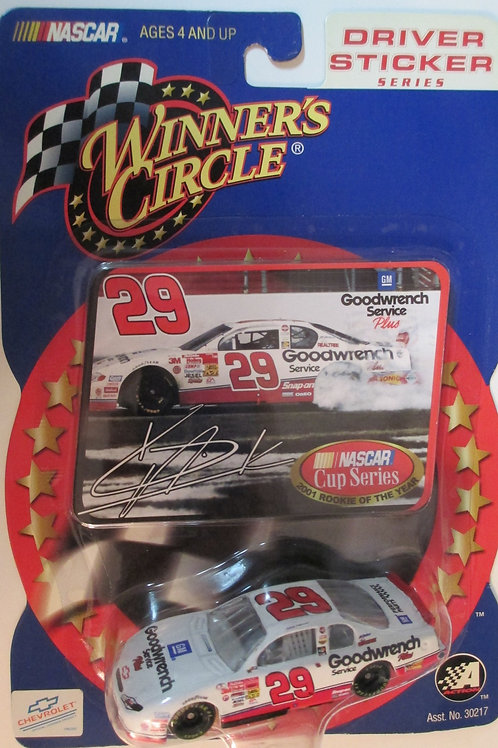 2002 - 2001 GM GoodWrench ROTY / Kevin Harvick 1:64 Box# 41
