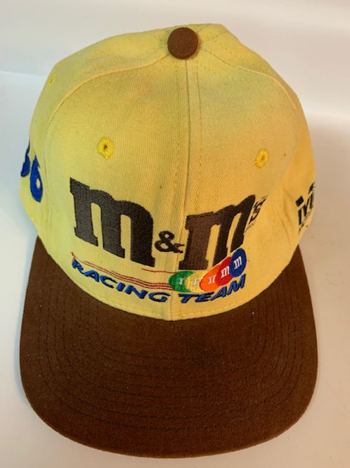 1999 M&M Racing Team Crew Hat  (NEW)/ Ernie Irvan Hat#5