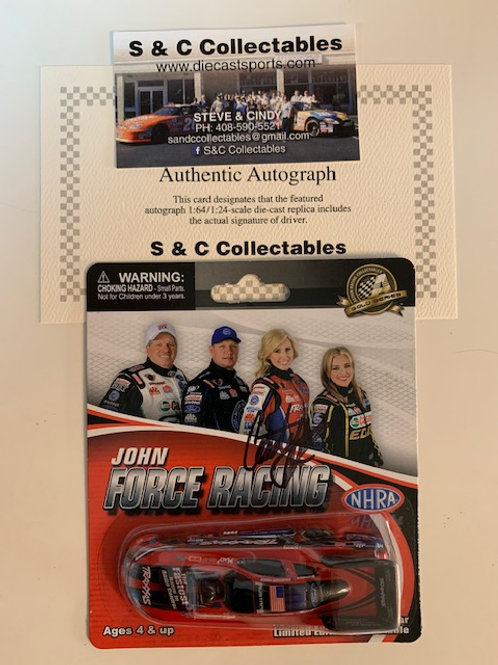 2013 Autograph Traxxas Funny Car / Coutney Force 1:64