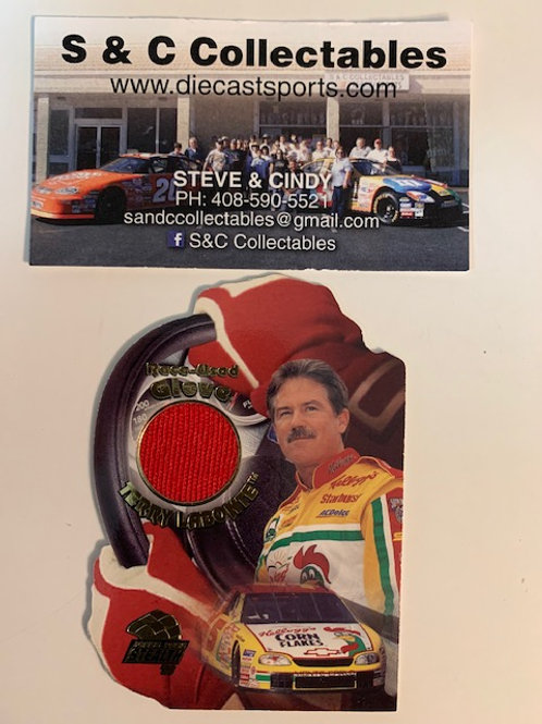 1998 Raced-Used Piece of Glove  / Terry Labonte Cards