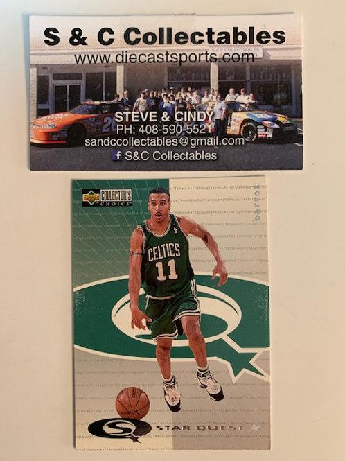 1997-98 Upper Deck Dana Barros Celtics Card# sq8 / Basketball-BK1