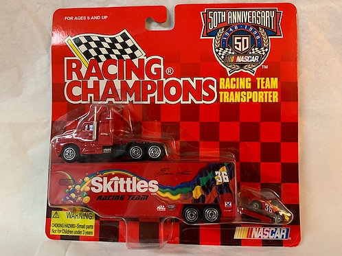 1998 Skittles Transporter with Car  / Ernie Irvan 1:64 Box#15