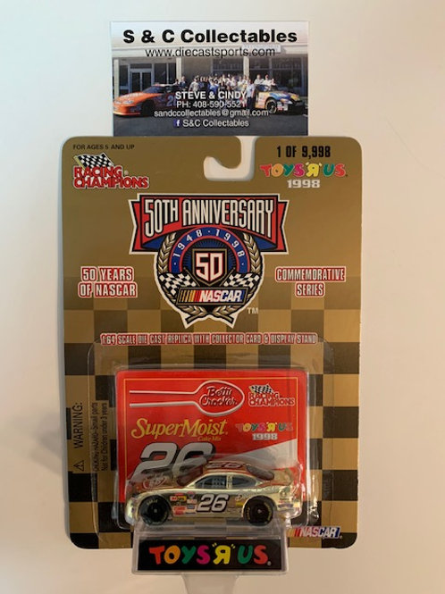1998 Betty Crocker  Toy's R Us Gold Car / Johnny Benson 1:64  Box# 42