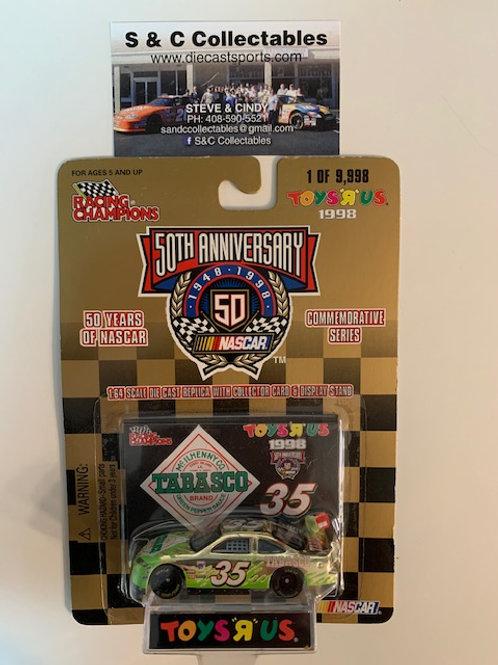 1998 Green Tabasco Toy's R Us Gold Car / Todd Bodine 1:64  Box# 42