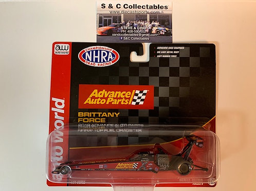 2019 Advance Auto Part Top Fuel Dragster / Brittany Force 1:64