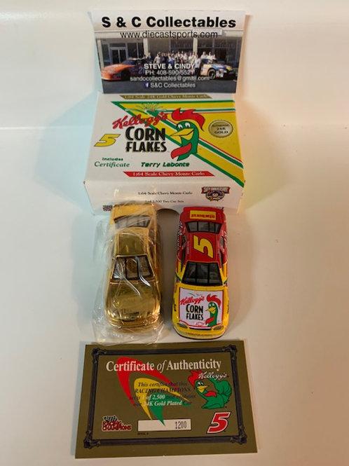 1998 Kellogg's Corn Flakes 2 Car Set / Terry Labonte 1:64 Shelf