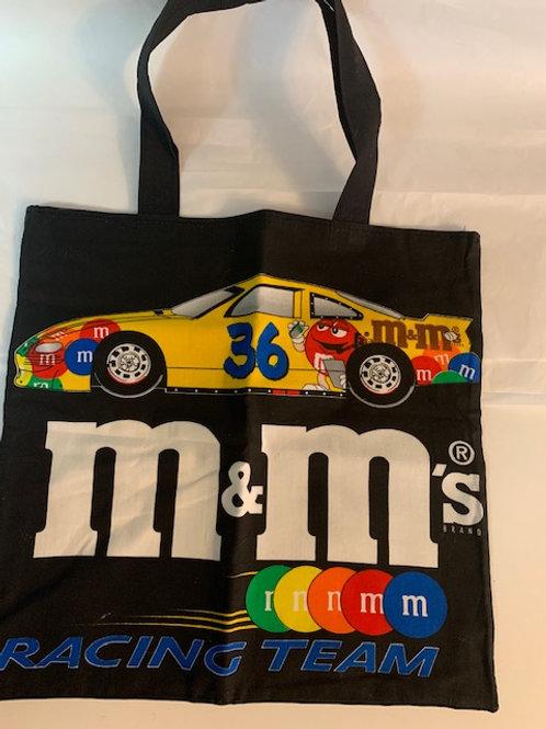 """2000 M&M's #36 Mr. Red Tote Bag 15""""X 14"""" / M&M Stuff  Box#97"""