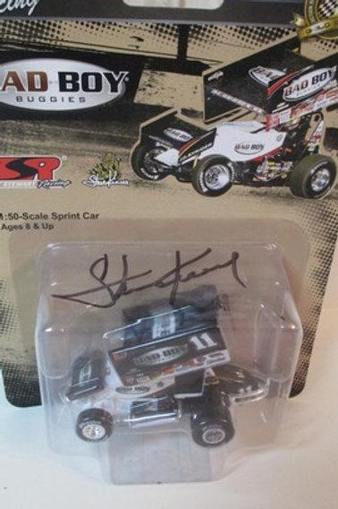 2014  Autographed Bad Boy Buggies Sprint Car / Steve Kinser 1:64  Peg