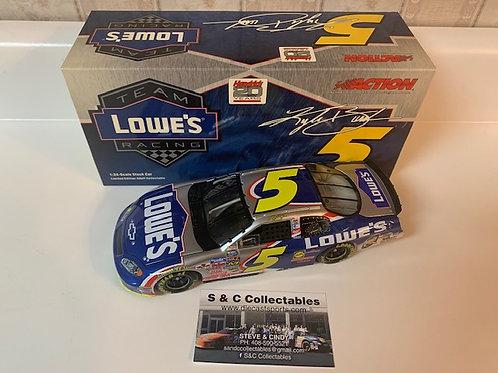 2004  Lowe's (Rookie Car) / Kyle Busch 1:24 Action #2