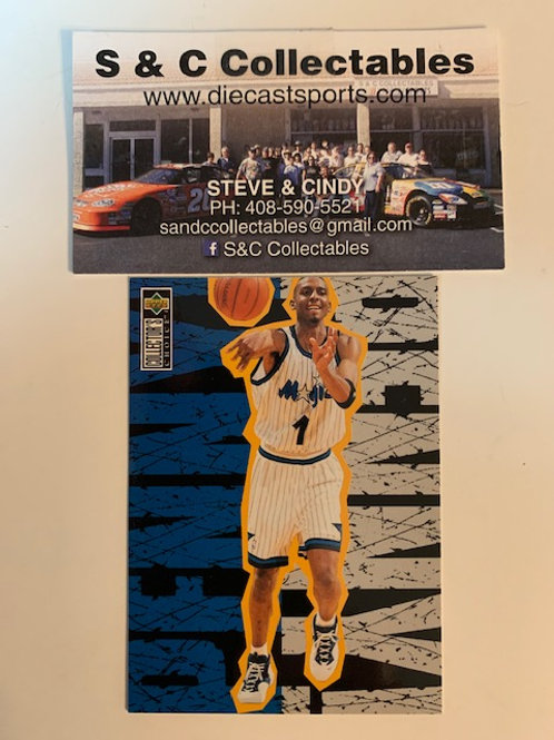 1996-97 Upper Deck Penny Hardaway Card# 114  / Basketball-BK1